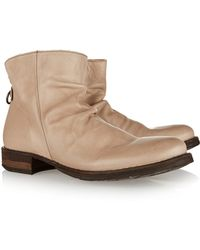 Fiorentini + Baker Elina Eternity Leather Ankle Boots - Lyst