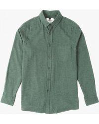 Topman | L/s Twill Shirt | Lyst