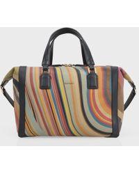 Paul Smith - Women'S Swirl Print Calf Leather 'Ziggy' Bag - Lyst