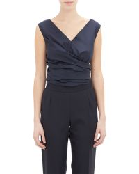 The Row Sleeveless Vedon Blouse - Lyst