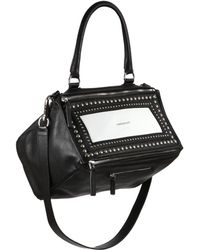 Givenchy Pandora Medium Studded Shoulder Bag black - Lyst