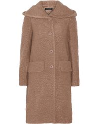 Jill Stuart Dilan Hooded Wool-Blend Bouclã© Coat - Lyst