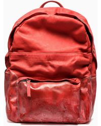 Oxs Rubber Soul Leather Backpack - Lyst