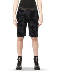 Alexander Wang - Leather Waistband Boardshorts - Lyst