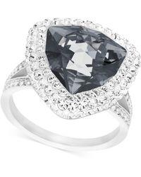 Swarovski Begin Palladium-plated Crystal Ring - Lyst