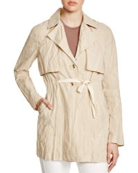 Sanctuary - Jules Crinkle-effect Trench Coat - Lyst