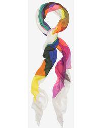 Faliero Sarti Cubik Multi Color Scarf multicolor - Lyst