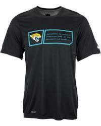 Nike  Jacksonville Jaguars Legend Jock Tag T-Shirt - Lyst