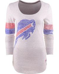Nike Womens Long-sleeve Buffalo Bills T-shirt - Lyst