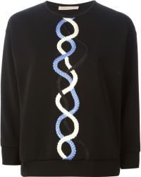 Christopher Kane Rope Embroidered Sweater - Lyst