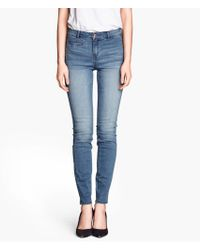 H&M Superstretch Jeans - Lyst