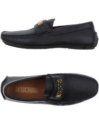 Moschino | Moccasins | Lyst