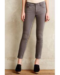 Pilcro - Serif Sateen Zip Jeans - Lyst