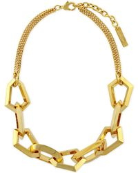Vince Camuto - Link Frontal Necklace - Lyst