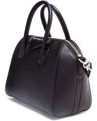 Givenchy Mini Antigona Grained Leather Shoulder Bag - Lyst
