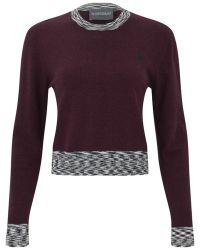 Antipodium - Women'S Pedigree Crop Knit Pullover - Lyst