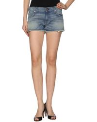 Textile Elizabeth And James Denim Shorts - Lyst