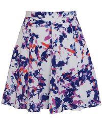 Olive & Oak - Paint Splash Swing Skirt - Lyst