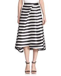 Nicholas Striped Midi Skirt - Lyst