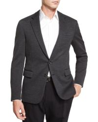 Ralph Lauren Black Label - Daniel Two-button Sweater Jacket - Lyst