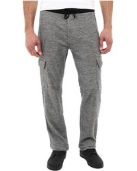 7 For All Mankind Knit Cargo in Heather Grey - Lyst