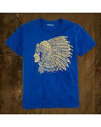 Denim & Supply Ralph Lauren Cotton Graphic Tee - Lyst