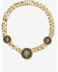Nasty Gal Keep On Lion Metallic Necklace - Lyst