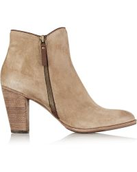 NDC Snyder Softy Suede Ankle Boots - Lyst