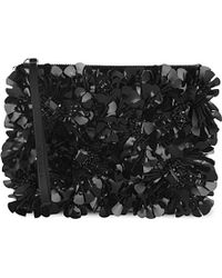 Marni Embellished Leather Clutch Bag - For Women - Lyst