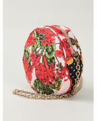 Dolce & Gabbana Glam Cotton Shoulder Bag - Lyst