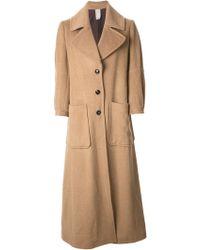 People - Classic Long Coat - Lyst