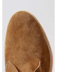 LAC - Union Tan Suede Chukka Boots - Lyst