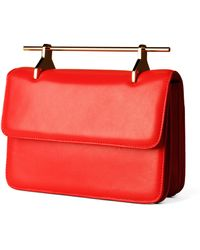M2malletier La Fleur Du Mal in Coral with Gold Hardware - Lyst