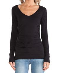 Velvet By Graham & Spencer Amora Gauzy Whisper Top - Lyst