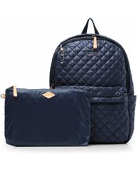 MZ Wallace Dawn Oxford Metro Backpack blue - Lyst