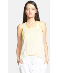 Helmut Lang Women'S 'Devotee' Double Layer Tank - Lyst