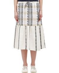 Ace & Jig Multicolor Tiered Skirt - Lyst