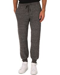 Diesel P-Thato Flecked Grey Sweatpants - Lyst