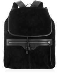 Balenciaga Traveller Suede and Leather Backpack - Lyst
