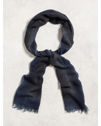 John Varvatos - Two-tone Spray Scarf - Lyst
