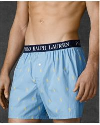 Ralph Lauren Polo Mens Polo Player Boxer Shorts - Lyst