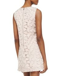 Alice + Olivia Dot Lace Sleeveless Dress Alice Olivia - Lyst