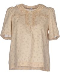 See By Chloé Blouse beige - Lyst
