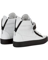 Giuseppe Zanotti Single Rubber Bangle High Top Sneaker - Lyst