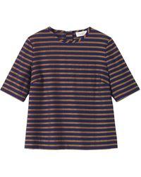 Toast - Jacquard Stripe T-shirt - Lyst