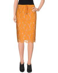 Twin Set | Knee Length Skirt | Lyst