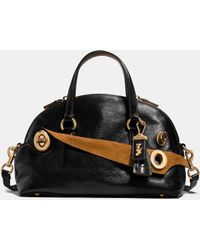 COACH | Outlaw Satchel 36 In Grain Leather | Lyst