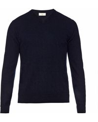 Esk - Ivan V-neck Cashmere Sweater - Lyst