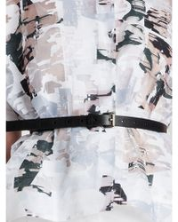 Jil Sander Leather Belt - Lyst