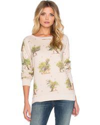 All Things Fabulous - Leopard Tree Friends Cozy Sweatshirt - Lyst